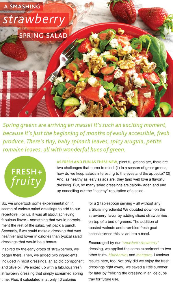 A Smashing Strawberry Salad