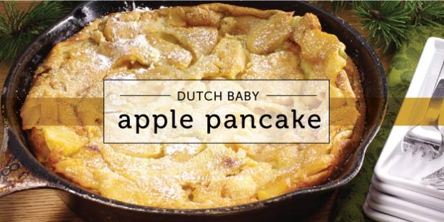 Dutch Baby Apple Pancakes