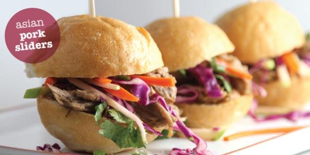 Asian Pork Sliders